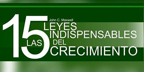 Las 15 Leyes Indispensables de Crecimiento boletos