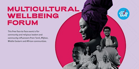 Multicultural Wellbeing Forum 2021 tickets