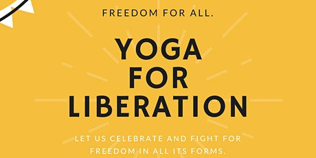 Yoga for Liberation tickets