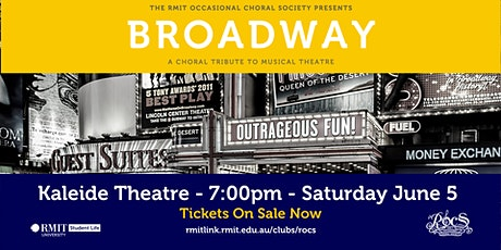 Broadway: A Choral Tribute to Musical Theatre tickets