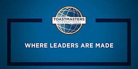 Capital Toastmasters tickets