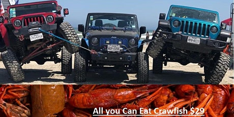 COUNTRY MUSIC, ALL YOU CAN EAT  CRAWFISH & JEEPS tickets