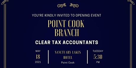 Clear Tax Point Cook - Opening Event tickets
