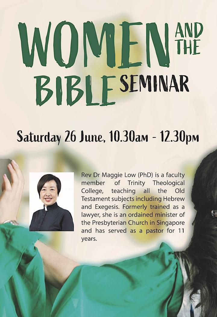 Women and the Bible Seminar image