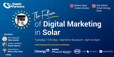 The Future of Digital Marketing in Solar Event - Hosted by Supply Partners tickets