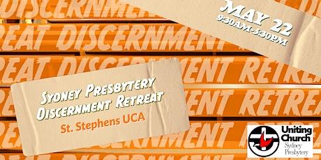 Sydney Presbytery Discernment Retreat tickets