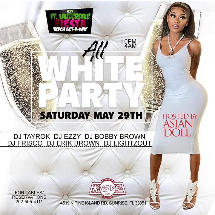 All White Party Hosted by Asian Doll image