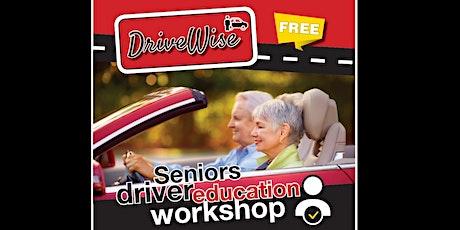DriveWise Senior Drivers OnlineWorkshop -June2021 Tickets