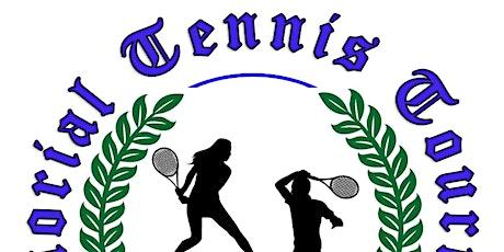 Sloane Weldon Memorial Tennis Tournament 2021 tickets