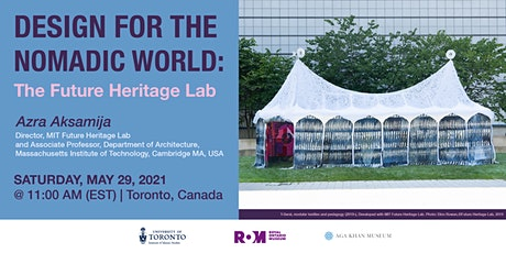 Design for a Nomadic World: The Future Heritage Lab tickets