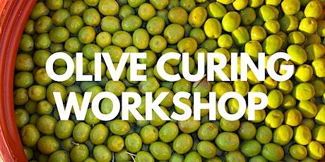 Olive Curing Workshop tickets