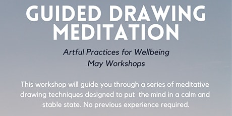 Guided Drawing Meditation (Artful Practices for Wellbeing) ARTSOURCE tickets