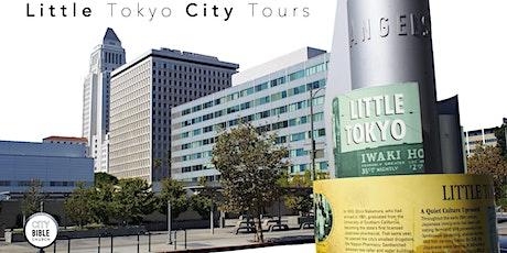 Little Tokyo City Tours tickets