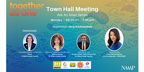 Together As One - Virtual Town Hall: Ask An Asian Series tickets