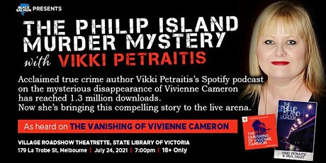 The Phillip Island Murder Mystery with Vikki Petraitis tickets