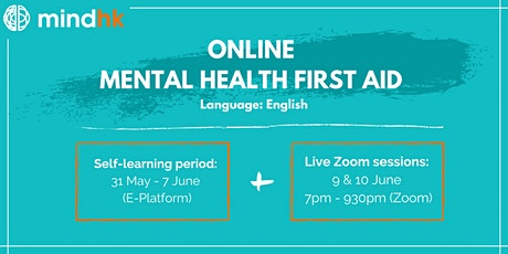 Online Mental Health First Aid Standard Course (31May - 10June) tickets