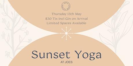 Joe's Sunset Gin & Yoga tickets