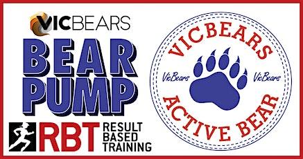 VicBears ActiveBear Presents - Bear Pump at RBT Gyms tickets