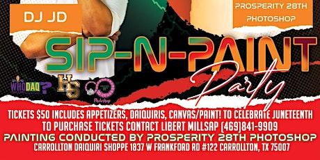 Juneteenth Paint N Sip tickets