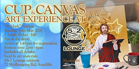 Cup & Canvas Art Experience @ 5&2 Lounge - 16 May, 2021 tickets