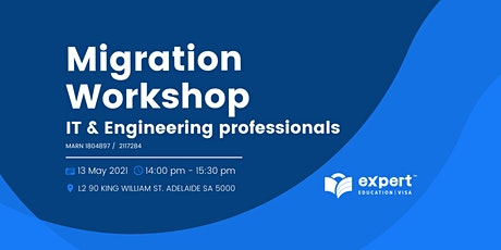 Free Migration Workshop: IT & Engineering professionals tickets