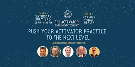 ACTIVATOR IMPLEMENTATION DAY tickets