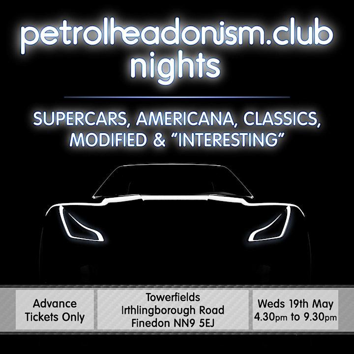 PETROLHEADONISM NIGHTS AT FINEDON image