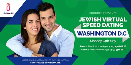 Isodate's Washington DC Jewish Virtual Speed Dating tickets