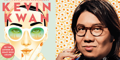 "Virtual Author Event with Kevin Kwan, Author of ""Sex and Vanity"" tickets"