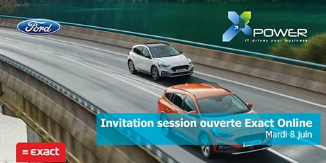 Session ouverte Exact Online - Xpower tickets