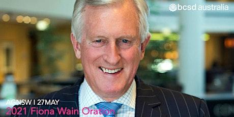 30BCSD Australia I Fiona Wain Oration 2021 tickets