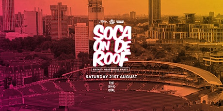 Soca On De Roof : Brunch Headphone Party tickets
