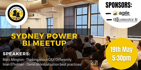 Sydney Power BI Meetup - May 19, 2021 tickets