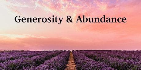 MINI COURSE: Generosity & Abundance tickets
