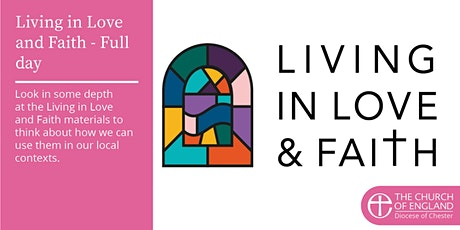Living in Love and Faith Taster: Full day tickets