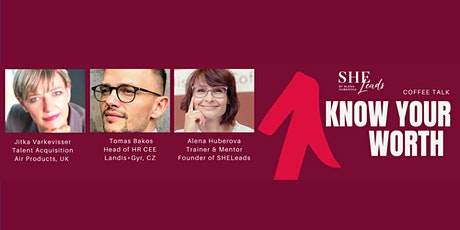 Coffee talk: Know and sell your worth effectively tickets