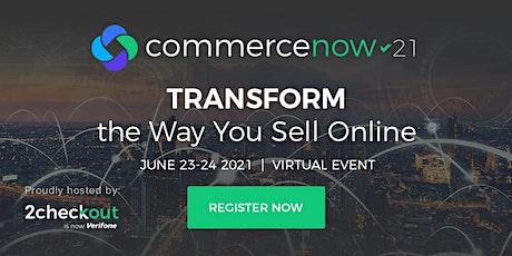 CommerceNow 2021 tickets