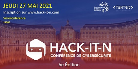 HACK-IT-N 2021 : 6e Édition billets