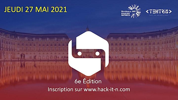 Image pour HACK-IT-N 2021 : 6e Édition