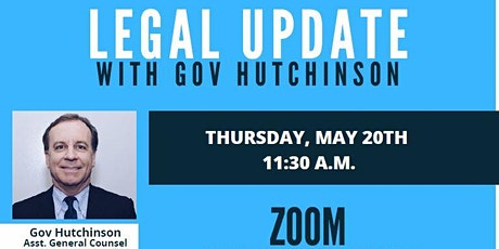 Gov Hutchinson Legal Update tickets