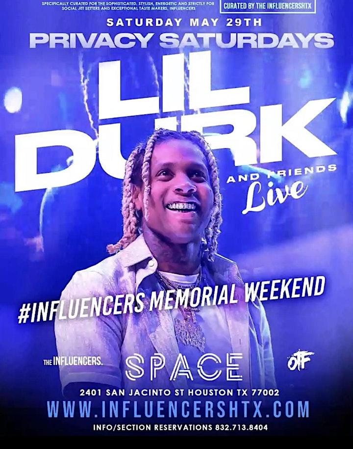 LIL DURK LIVE! PRIVACY SATURDAYS at SPACE NIGHTCLUB HOUSTON - RSVP NOW! image