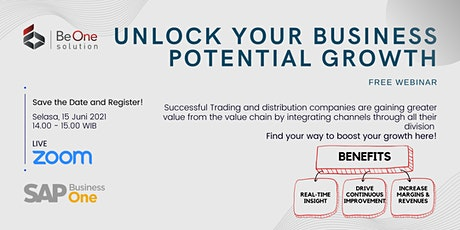Unlock Your Business Potential Growth tickets