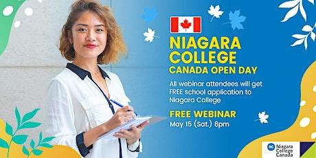 Niagara College Canada Open Day – Philippines tickets