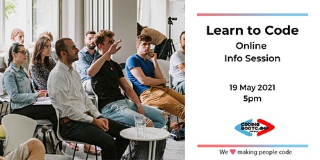 Learn to Code Info session Webinar tickets