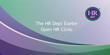 Open HR Clinic with The HR Dept Exeter tickets