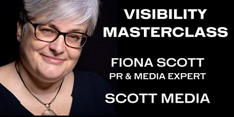VISIBILITY MASTERCLASS tickets
