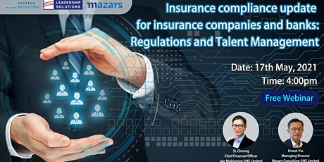 Insurance compliance update for insurance companies and banks: Regulations tickets