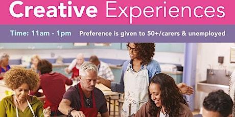 Creative Experiences Luton: MONO PRINT PORTRAITS tickets