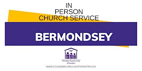 In Person Church Service- Servicio Presencial tickets