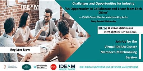 IDEAM Cluster Member's Virtual MatchMaking Tickets